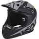 Kali Zoka Fullface Helmet dual: solid black/lime